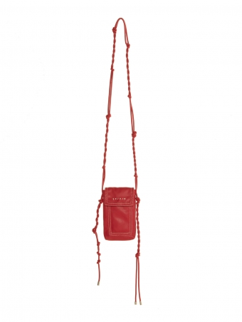 mini borsa in ecopelle rossa 21FE9594191_350